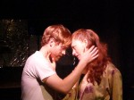 Luke Wise and Jill Rittinger in a scene from THE SANDMAN'S COMING.