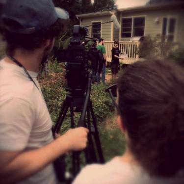 Shooting on the farm...