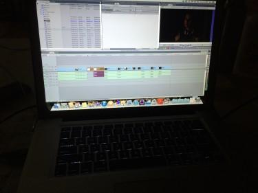 Editing begins...
