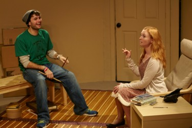 Matt Sydney as Shep and Shelley Little as Maya.